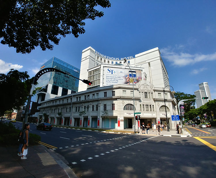 Proposed Additions & Alterations works at Rendezvous Hotel, 9 Bras Basah Road