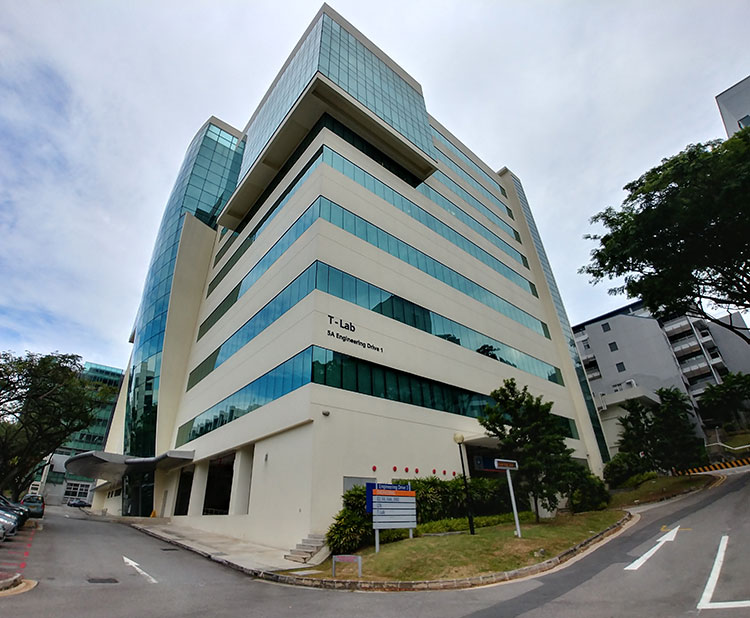 Proposed Fit Up of Existing T-Lab, NUS Laboratories, 5A Engineering Drive 3
