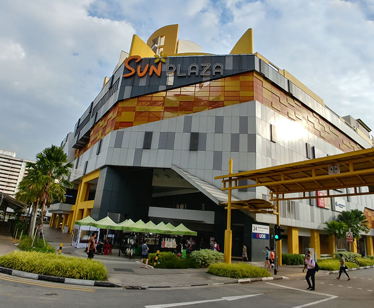 Proposed Additions & Alterations Works at Sun Plaza, 30 Sembawang Drive